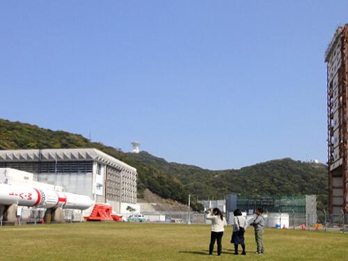 大崎の近くにはロケットを打ち上げる施設もあります