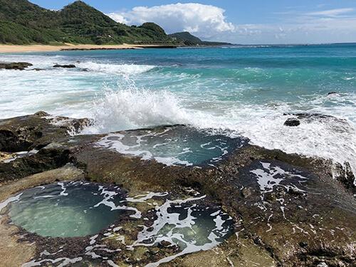 美しい離島の海