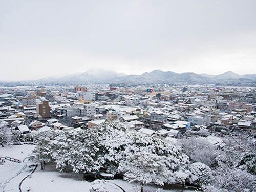 南国なのに大雪が降ることも!
